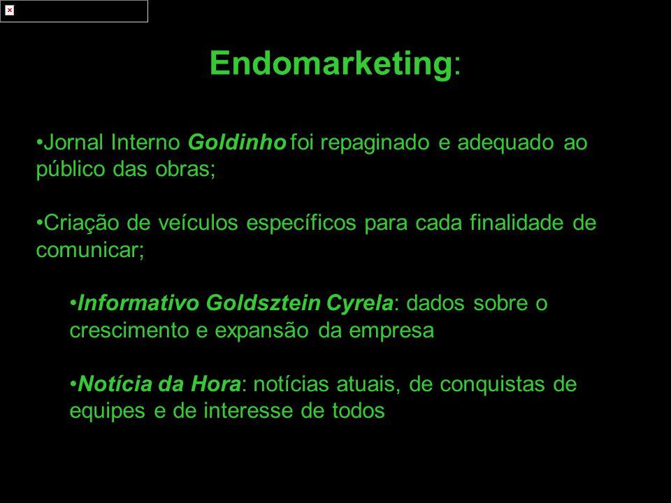 Endomarketing: Jornal Interno Goldinho foi repaginado e adequado ao público das obras;