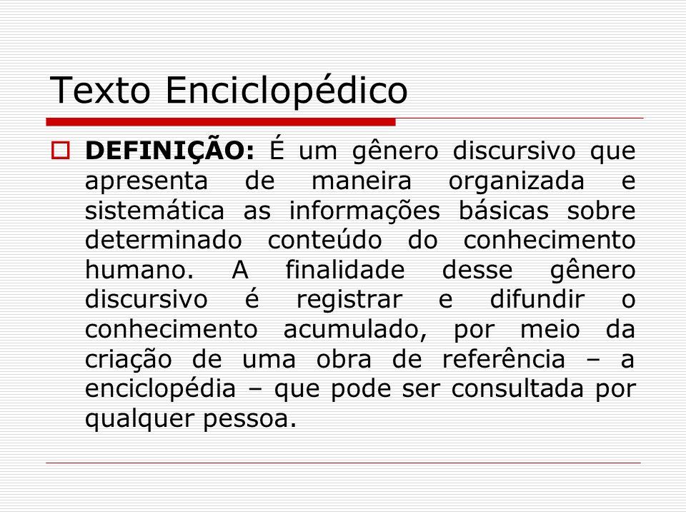 Texto Enciclopédico