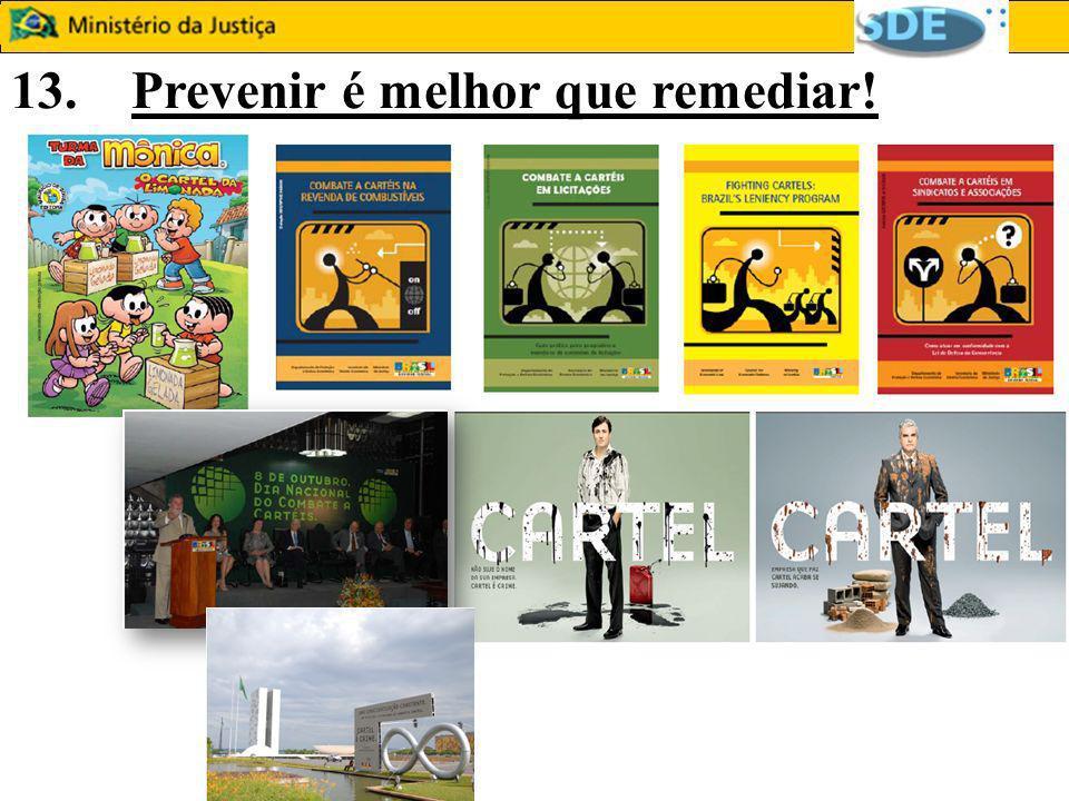13. Prevenir é melhor que remediar!