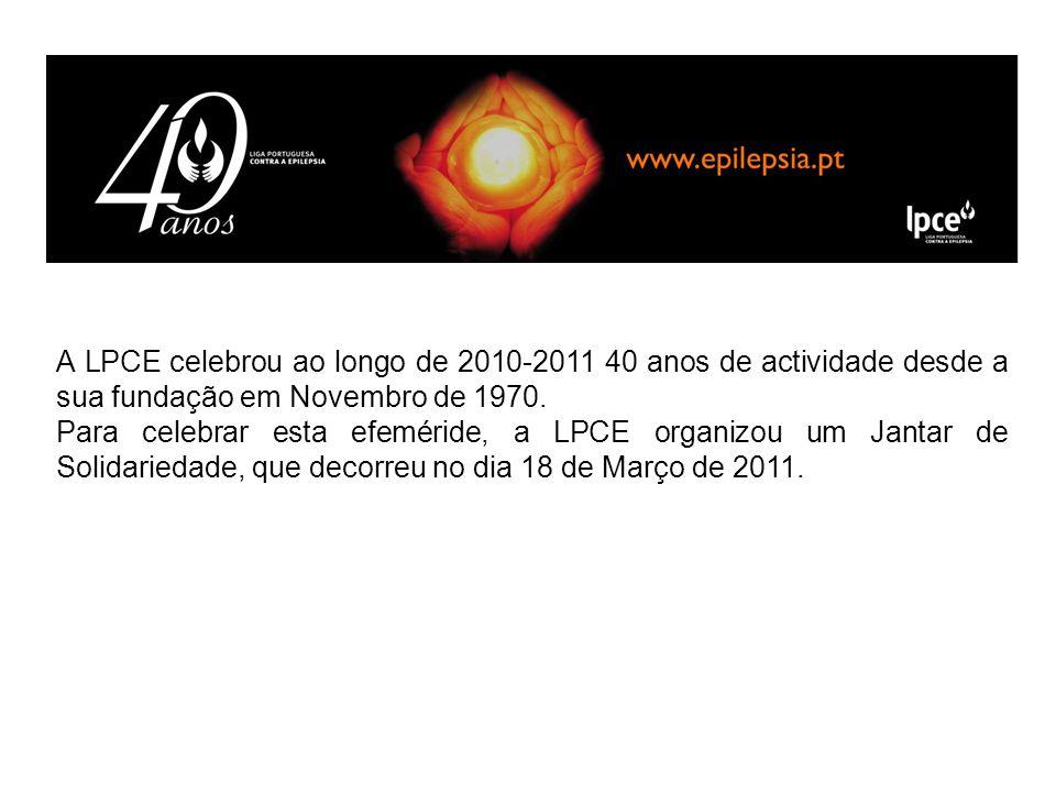 A LPCE celebrou ao longo de 2010-2011 40 anos de actividade desde a sua fundação em Novembro de 1970.