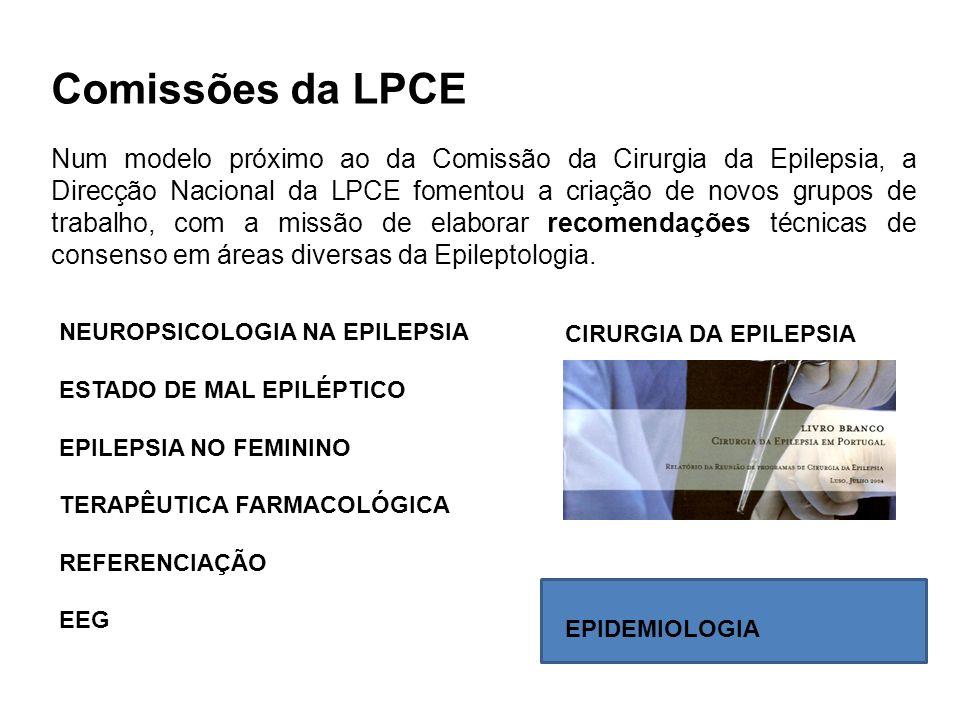 Comissões da LPCE