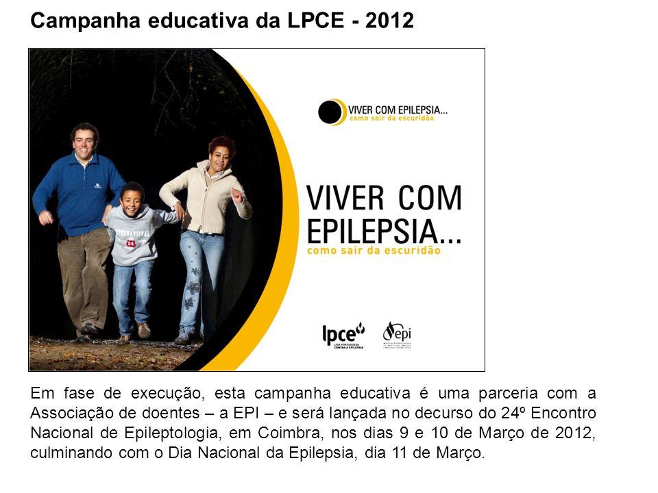 Campanha educativa da LPCE - 2012