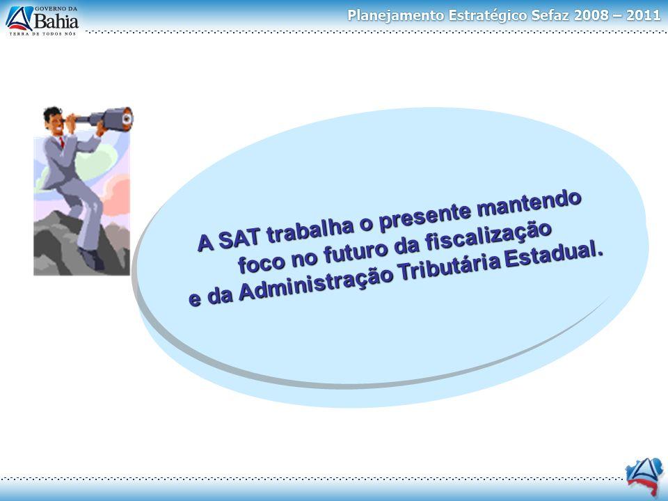 A SAT trabalha o presente mantendo foco no futuro da fiscalização