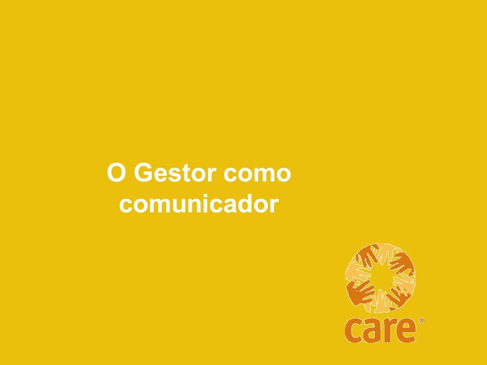 O Gestor como comunicador