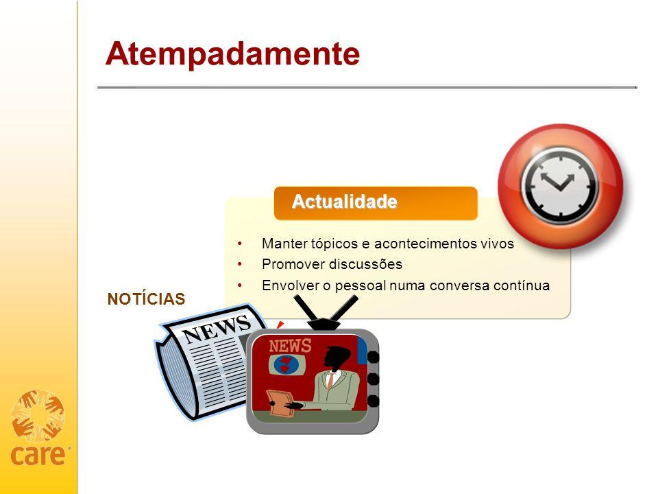 Atempadamente Actualidade NOTÍCIAS