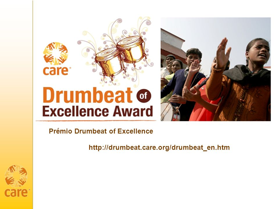 Prémio Drumbeat of Excellence