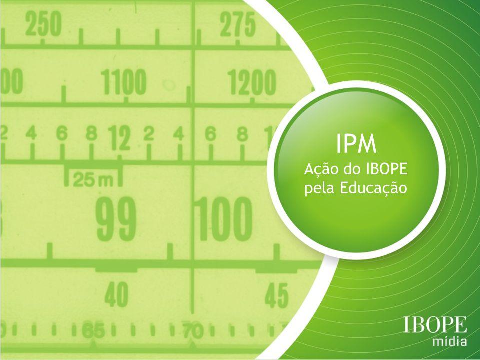 Ação do IBOPE pela Educação
