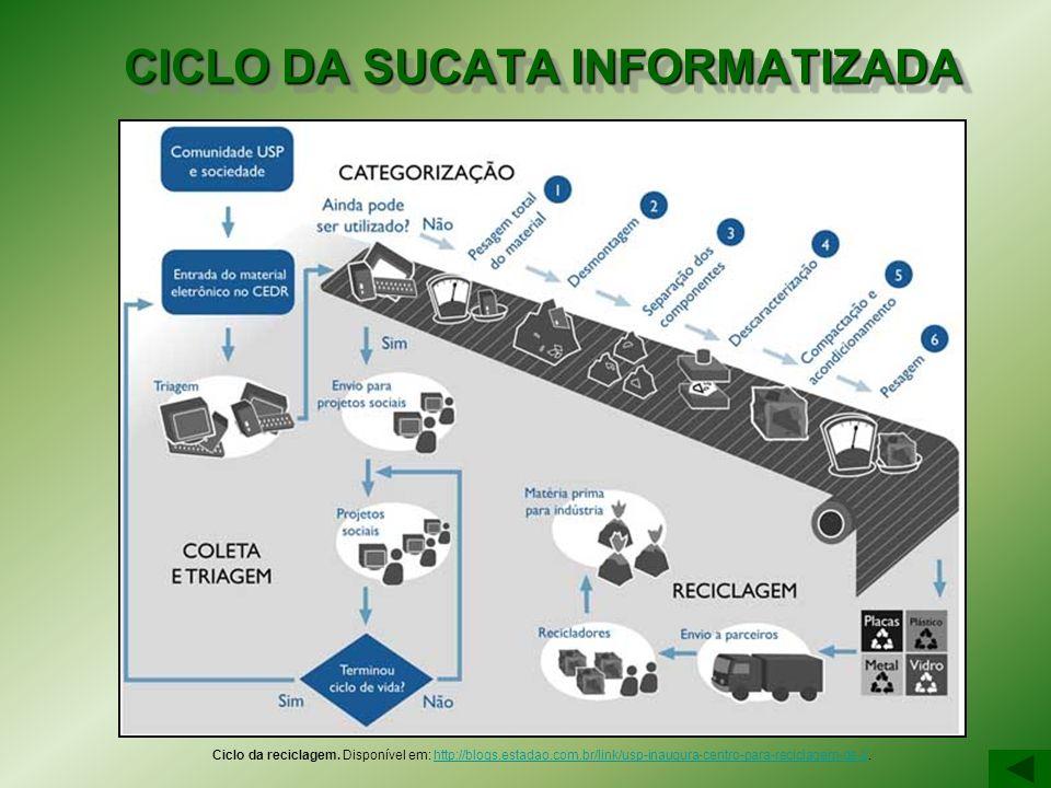 CICLO DA SUCATA INFORMATIZADA