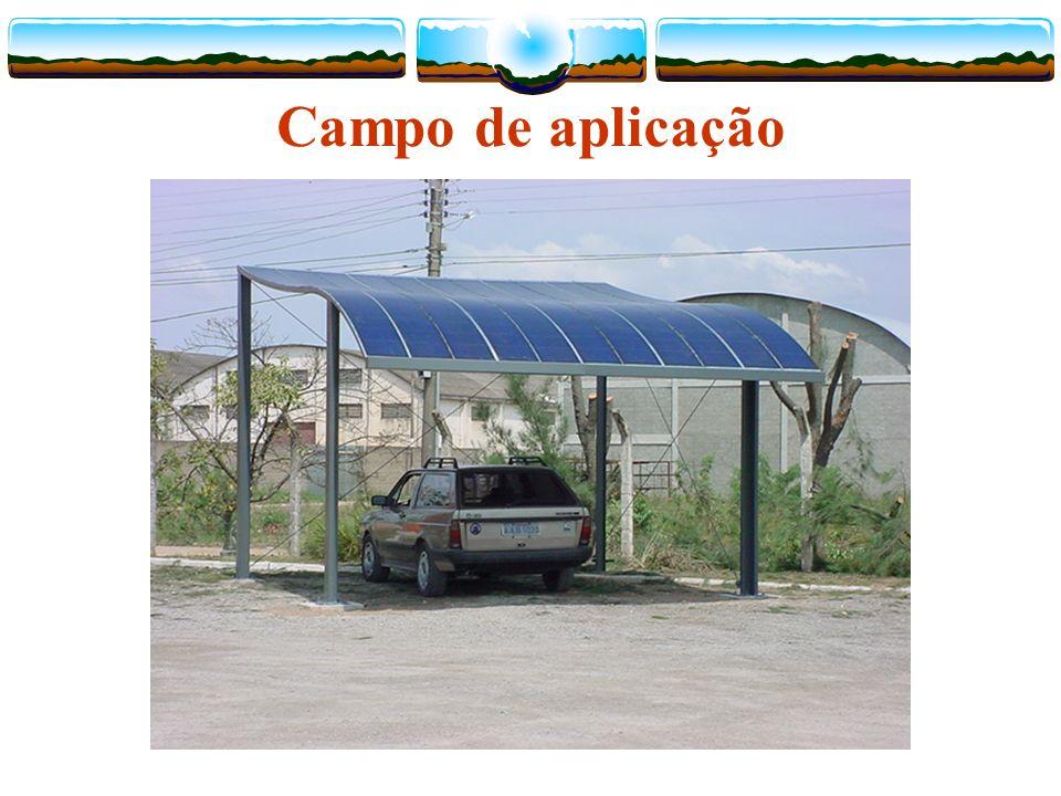 Campo de aplicação Projeto CELESC / LABSOLAR - Unidade TUBARÃO / 1.4kWp Setembro 2003