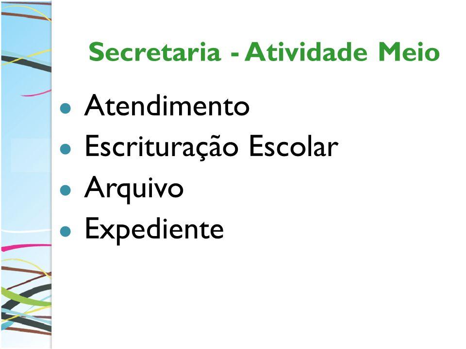 Secretaria - Atividade Meio