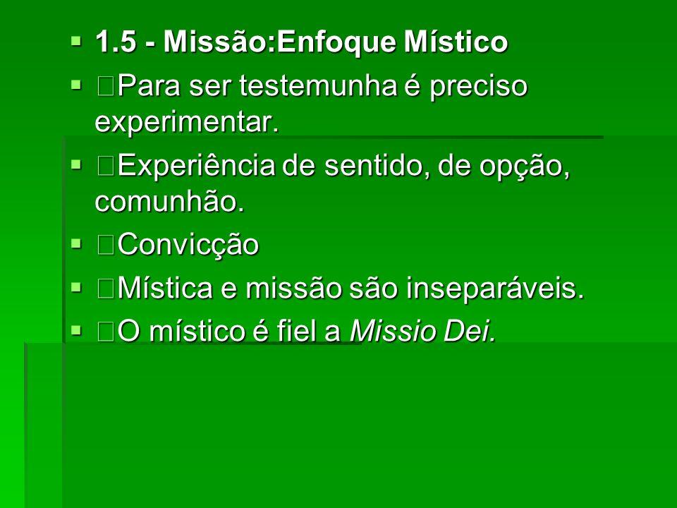 1.5 - Missão:Enfoque Místico