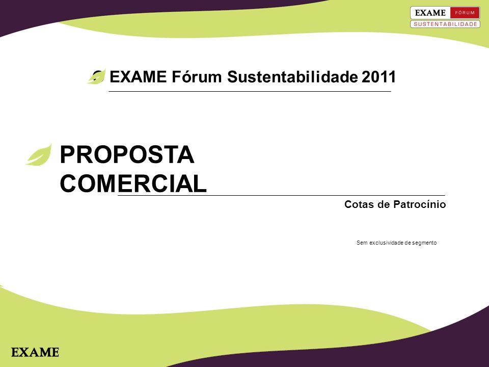 O EXAME Fórum Sustentabilidade 2011