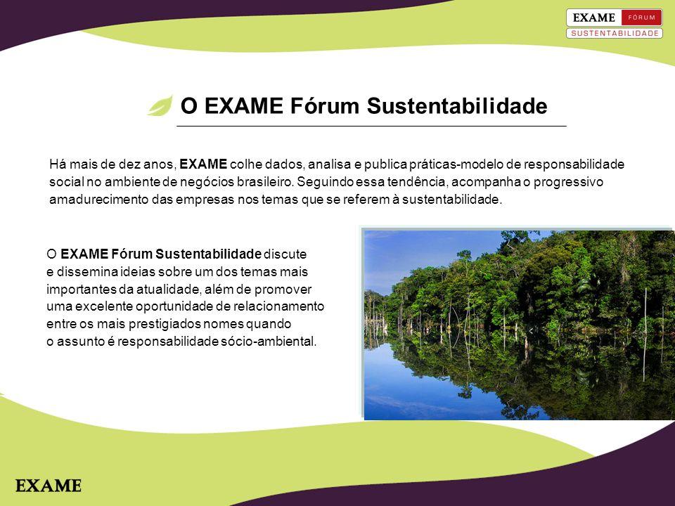O EXAME Fórum Sustentabilidade