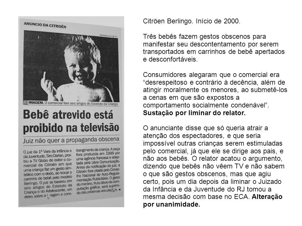 Citröen Berlingo. Início de 2000.