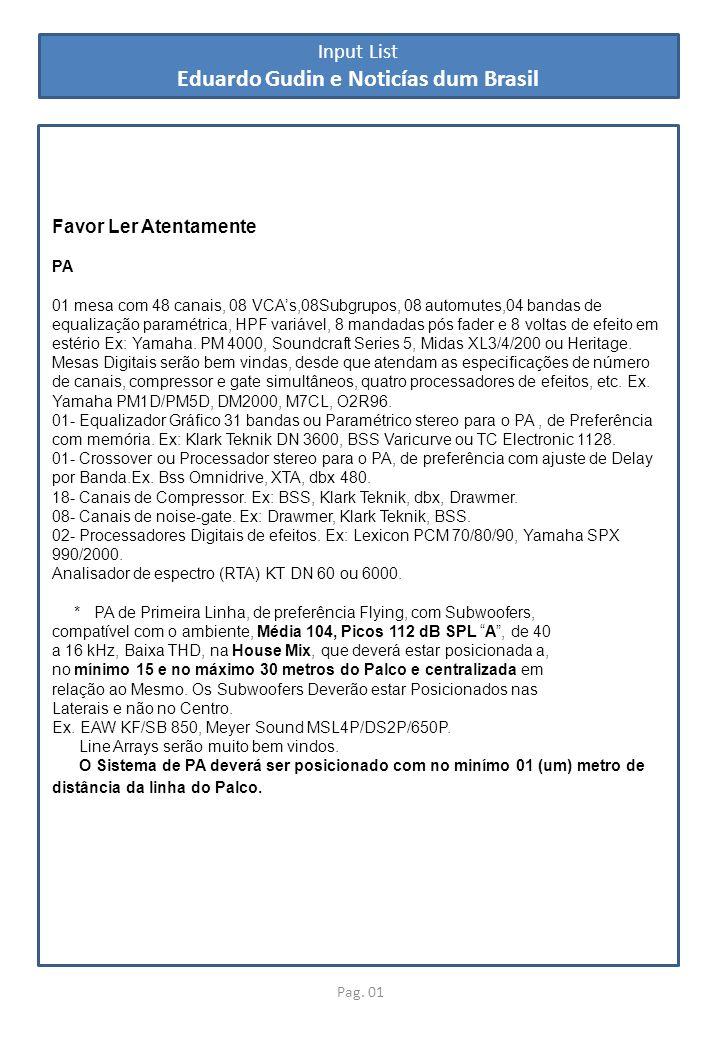 Eduardo Gudin e Noticías dum Brasil
