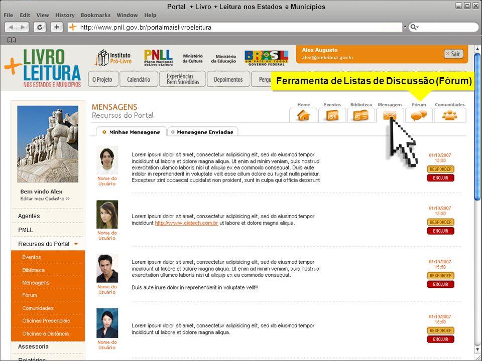 Portal + Livro + Leitura nos Estados e Municípios