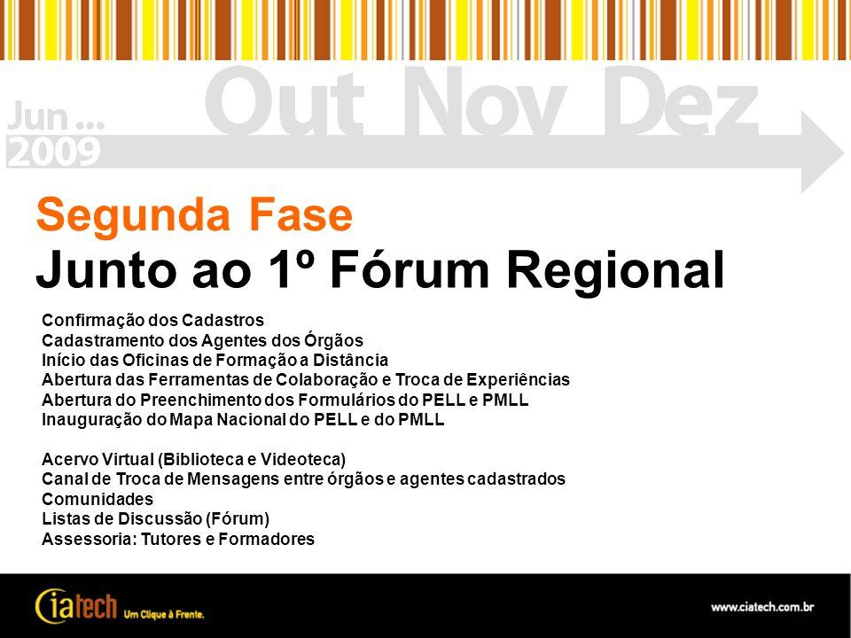 Junto ao 1º Fórum Regional