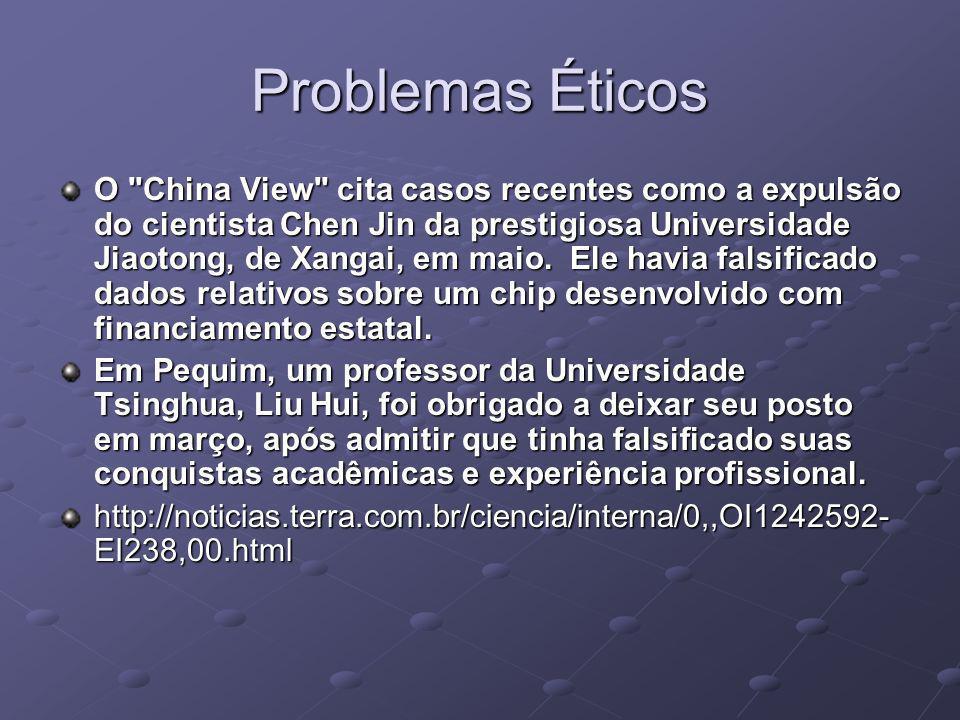 Problemas Éticos