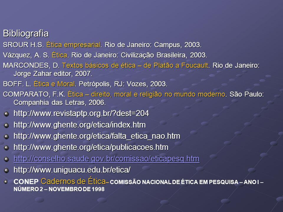 Bibliografia http://www.revistaptp.org.br/ dest=204