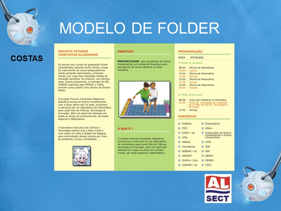 MODELO DE FOLDER COSTAS
