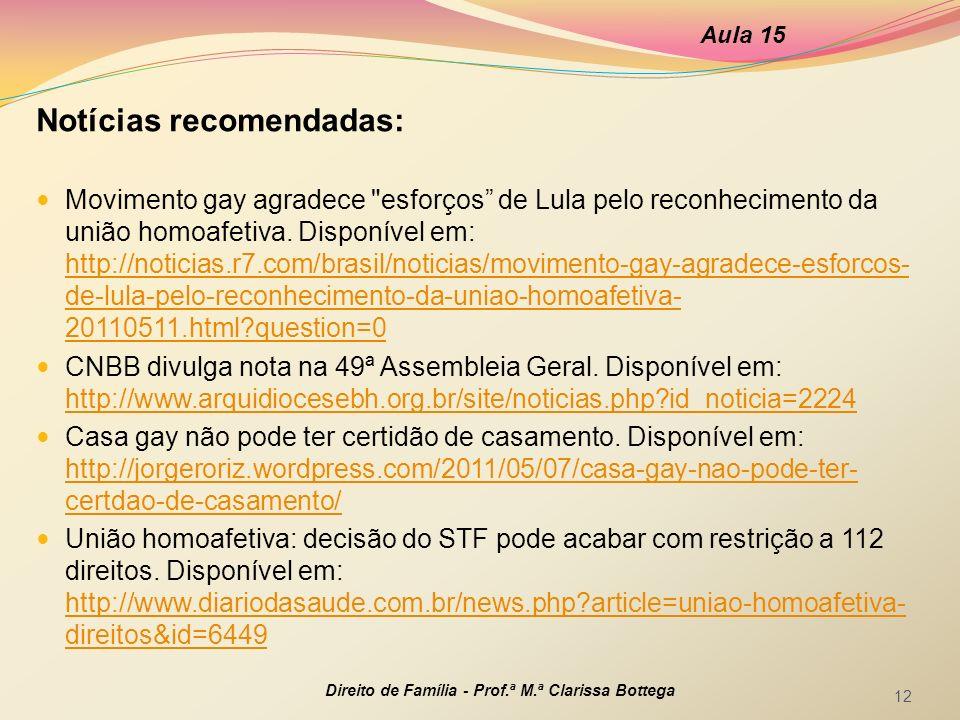 Notícias recomendadas: