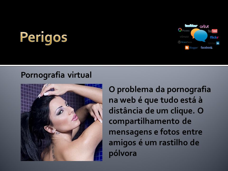Perigos Pornografia virtual
