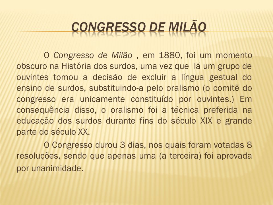 Congresso de Milão