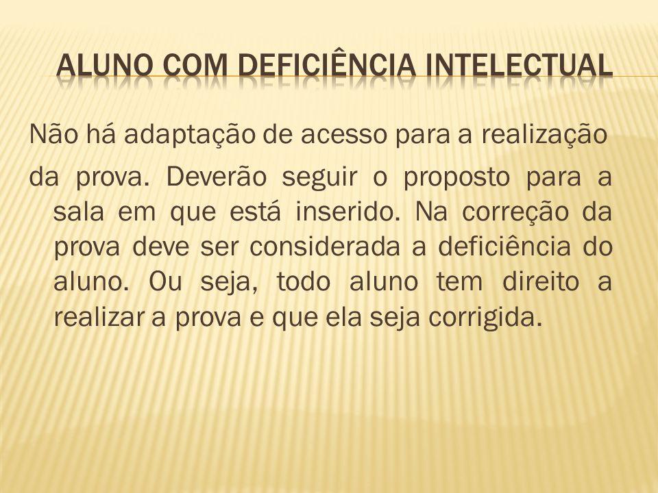 Aluno com Deficiência Intelectual