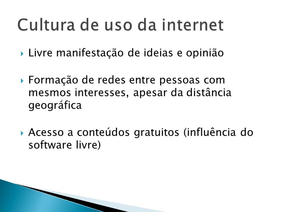 Cultura de uso da internet