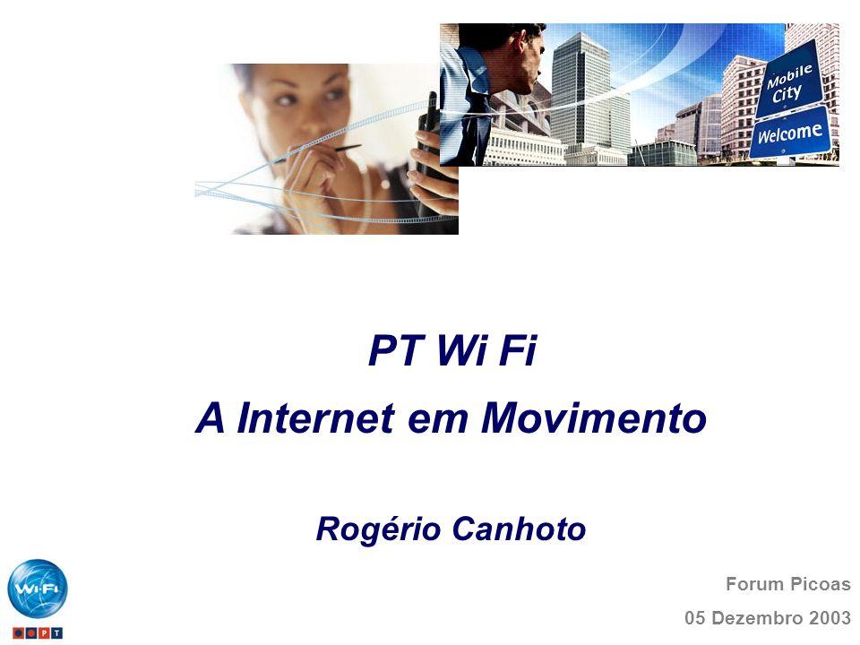 A Internet em Movimento