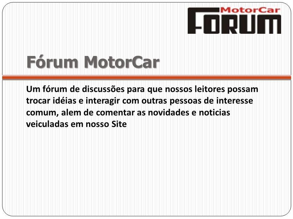 Fórum MotorCar