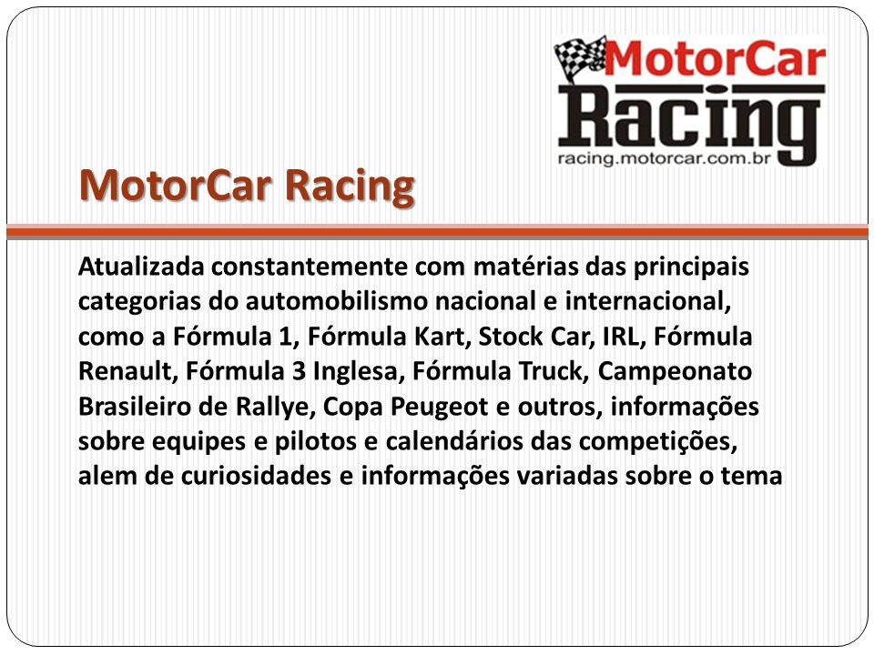 MotorCar Racing
