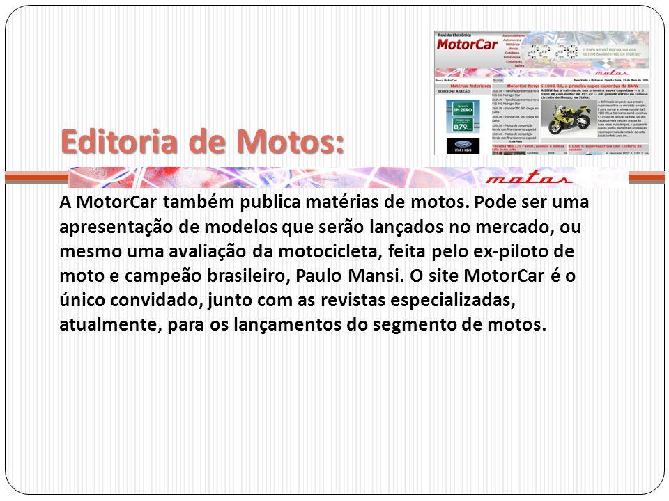 Editoria de Motos: