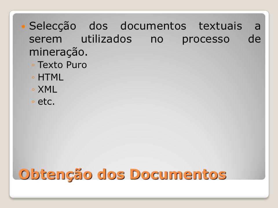 Obtenção dos Documentos