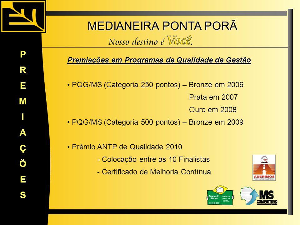 MEDIANEIRA PONTA PORÃ P R E M I A Ç Õ S
