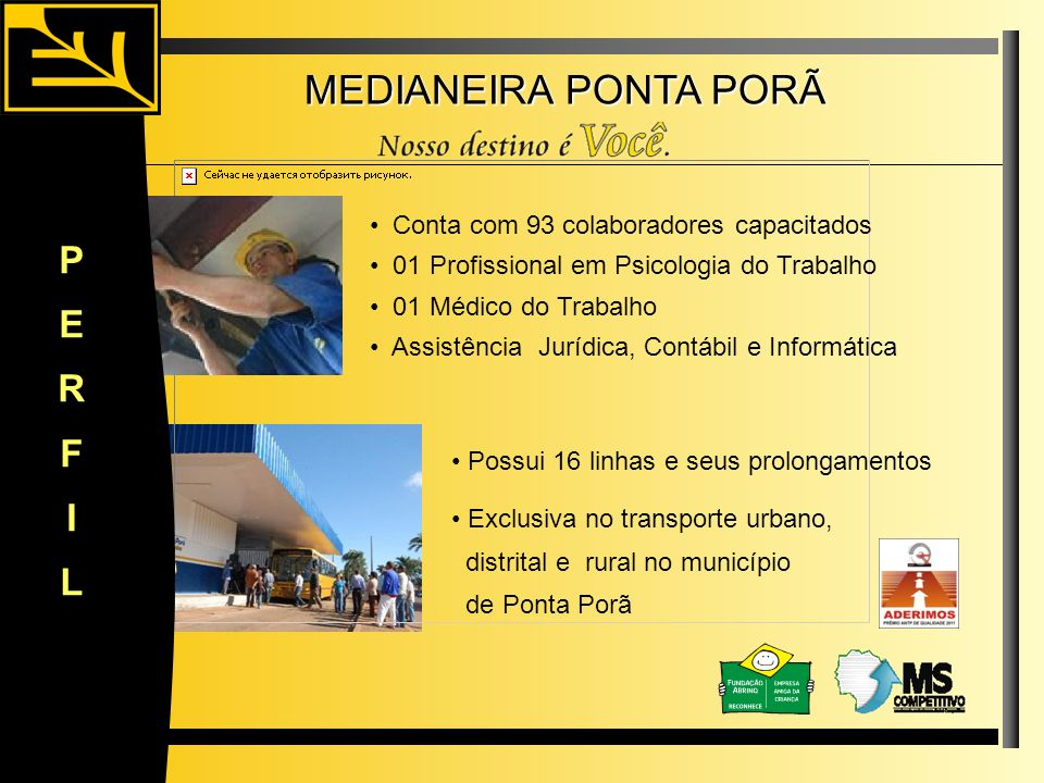 MEDIANEIRA PONTA PORÃ P E R F I L