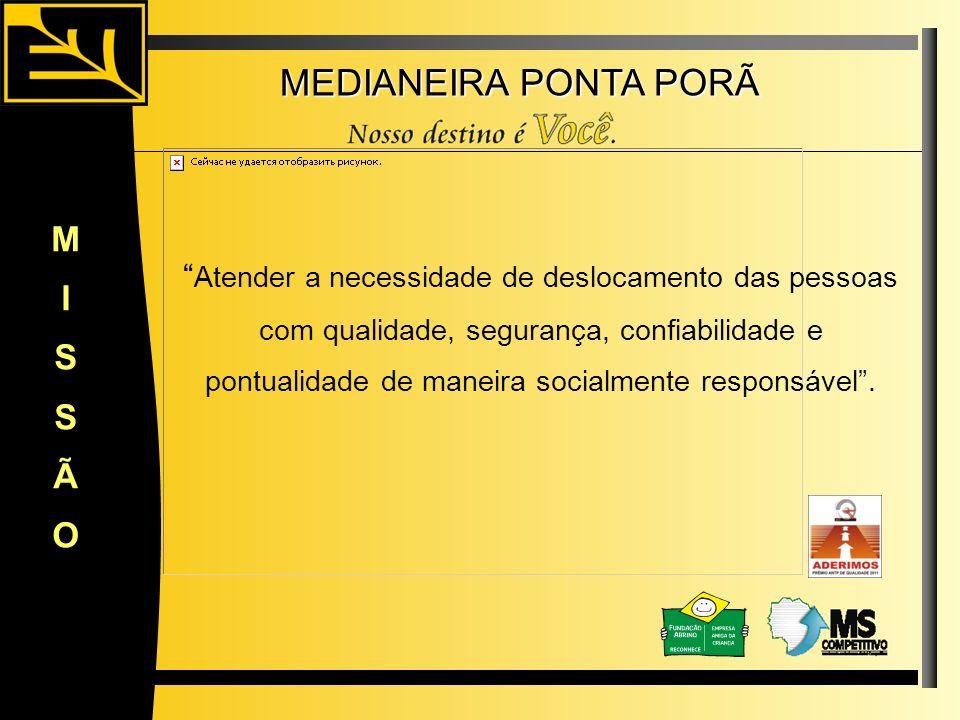 MEDIANEIRA PONTA PORÃ M I S Ã O