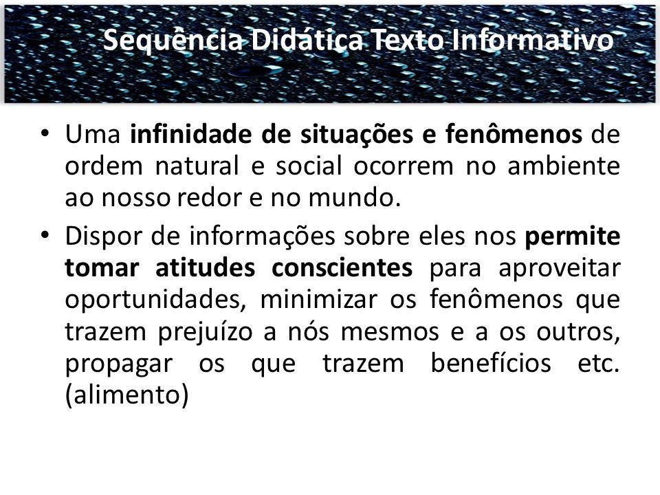Sequência Didática Texto Informativo