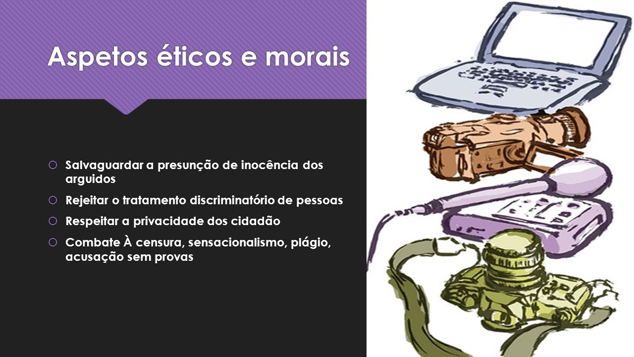 Aspetos éticos e morais
