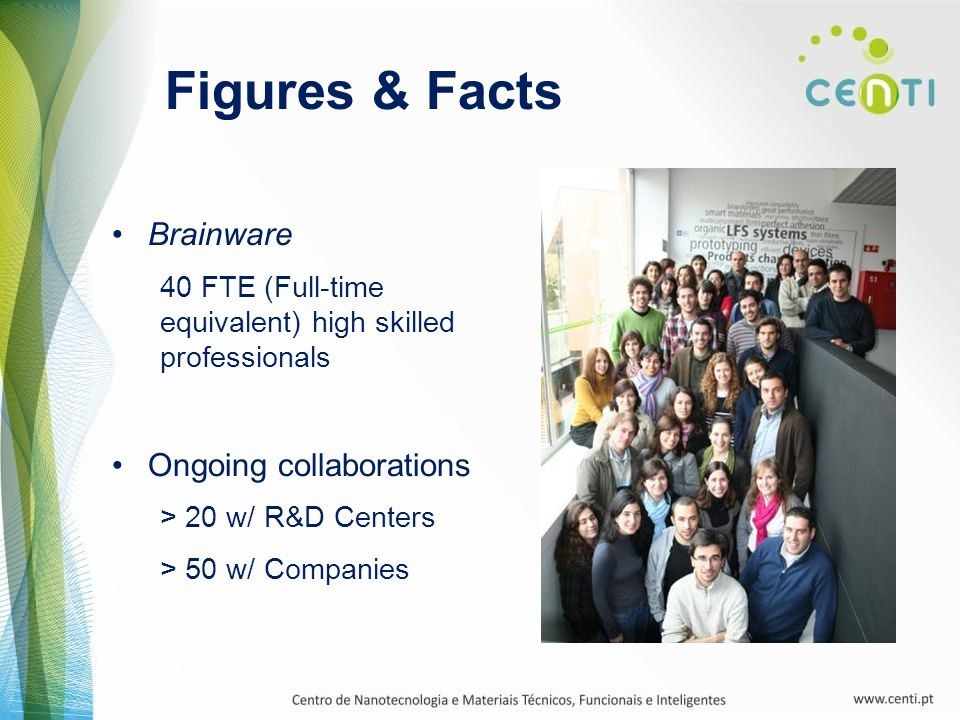 Figures & Facts Brainware Ongoing collaborations