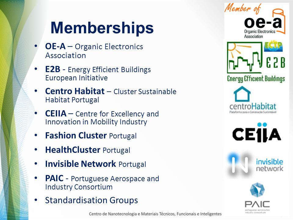 Memberships OE-A – Organic Electronics Association