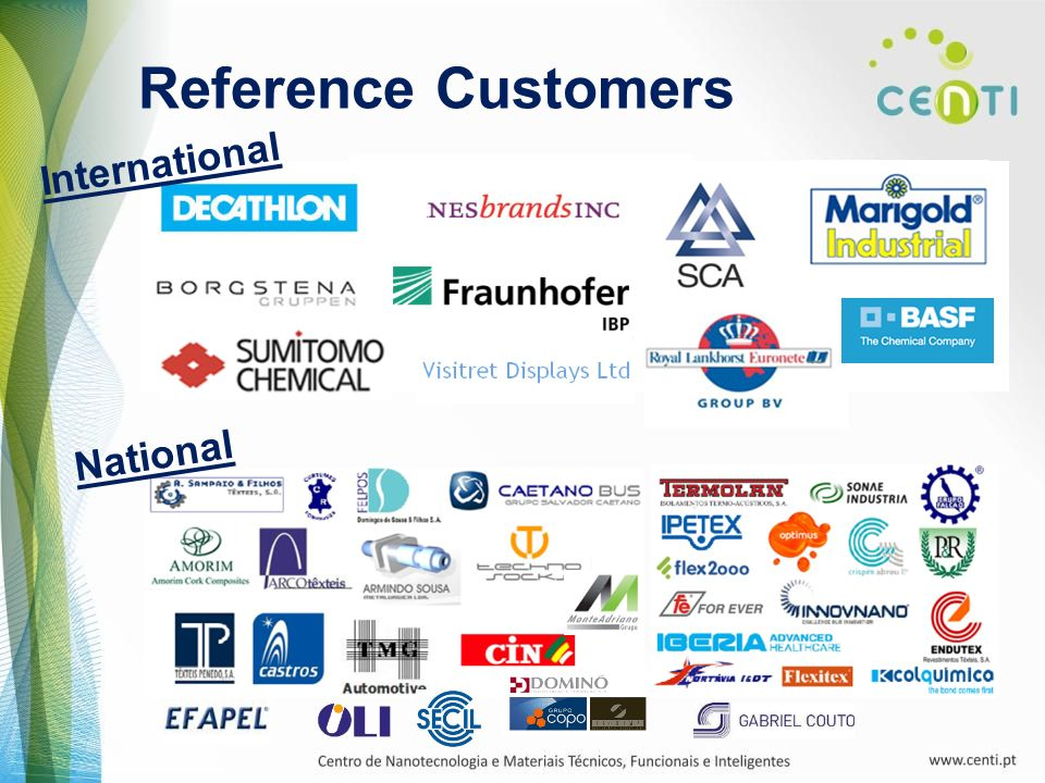 Reference Customers International National