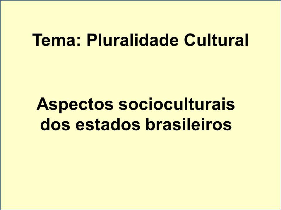 Tema: Pluralidade Cultural