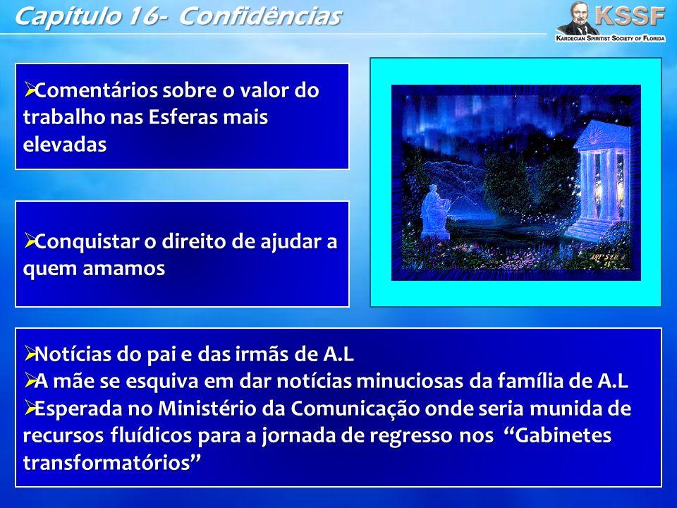 Capítulo 16- Confidências