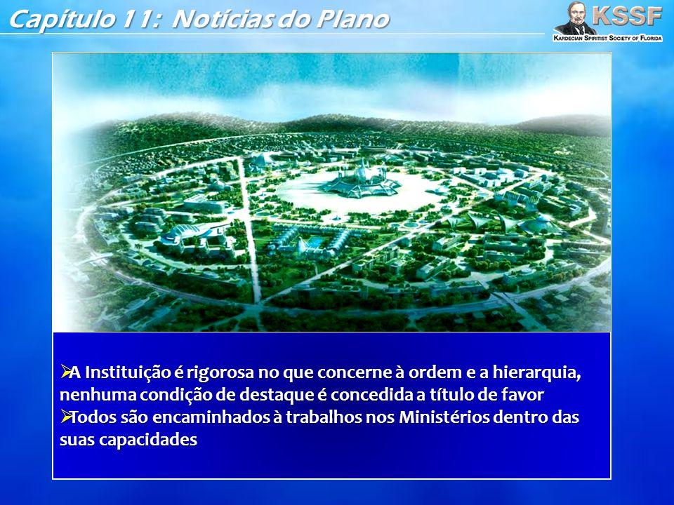 Capítulo 11: Notícias do Plano