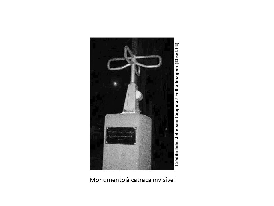Monumento à catraca invisível