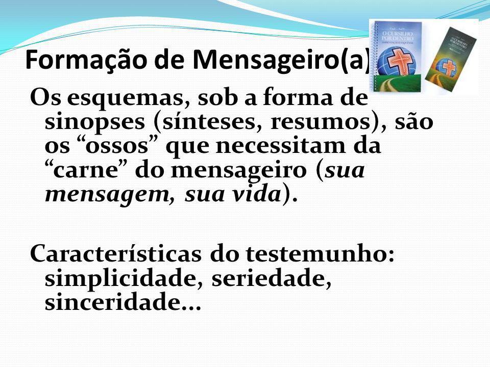 Formação de Mensageiro(a)