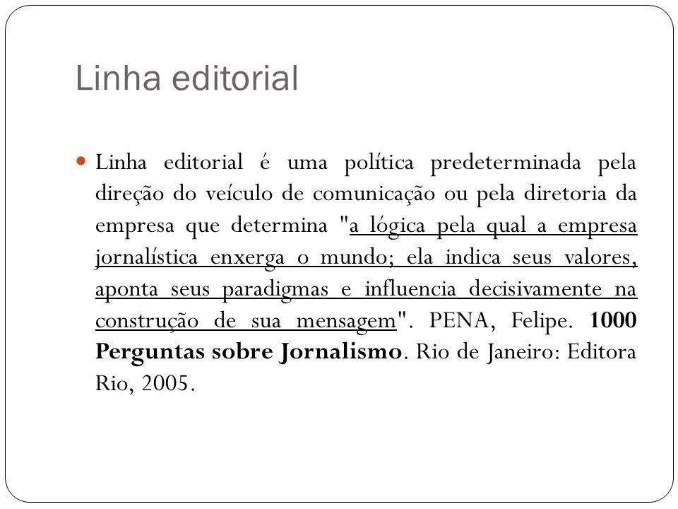 Linha editorial
