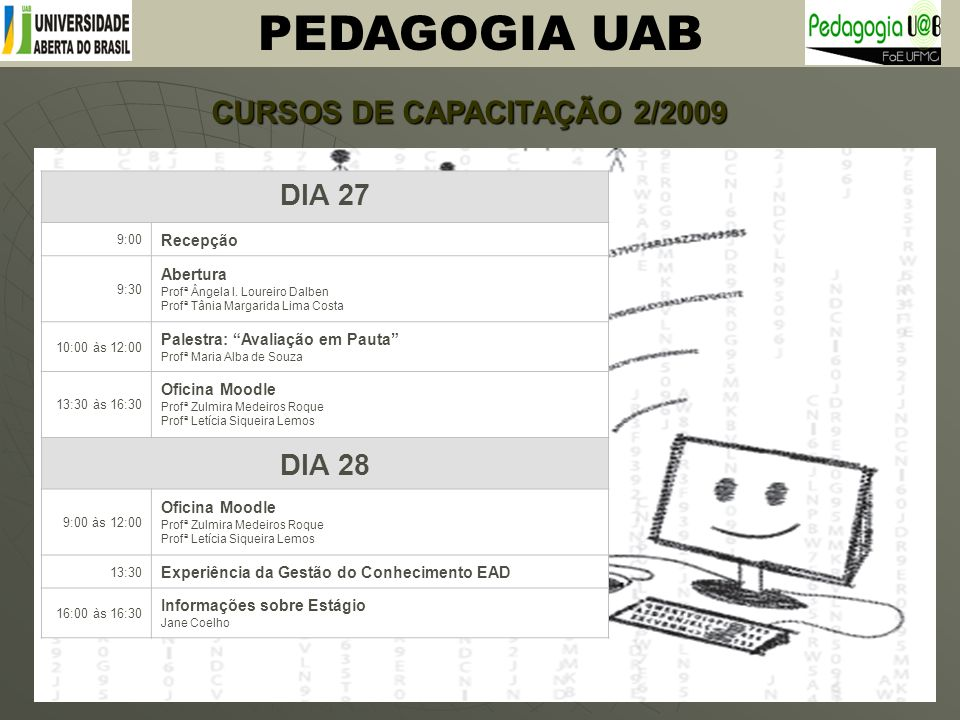 CURSOS DE CAPACITAÇÃO 2/2009