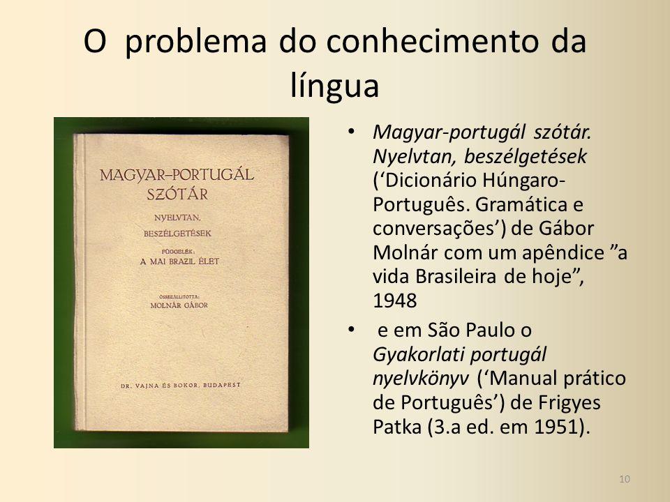 O problema do conhecimento da língua